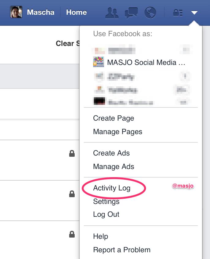 Hoe kan je je geschiedenis verwijderen in je zoekbalk van Facebook?