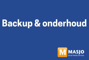 masjo backup en onderhoud