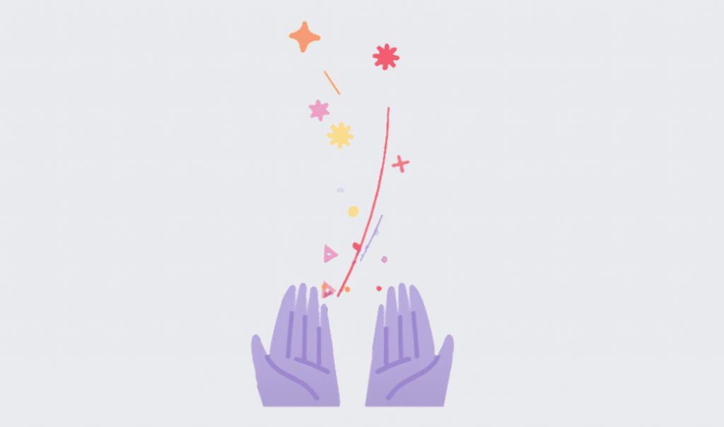 Best Wishes animatie Facebook