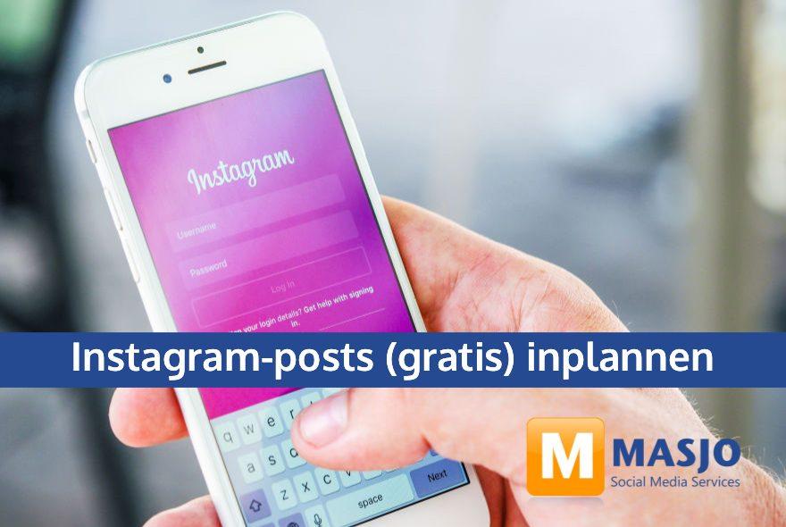 Instagram-posts (gratis) inplannen